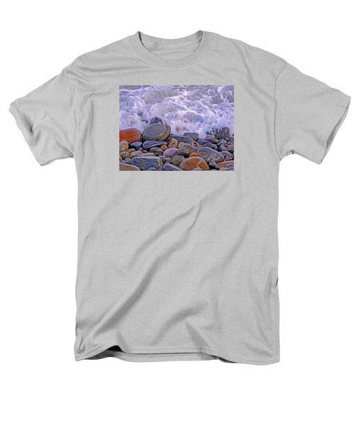 Sea Covers All  Men's T-Shirt  (Regular Fit) by Lynda Lehmann