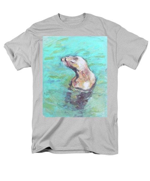 Sea Lion Men's T-Shirt  (Regular Fit) by Yoshiko Mishina