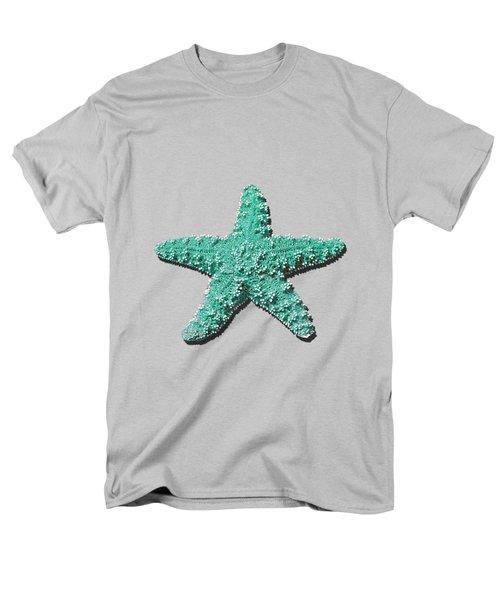 Sea Star Aqua .png Men's T-Shirt  (Regular Fit)