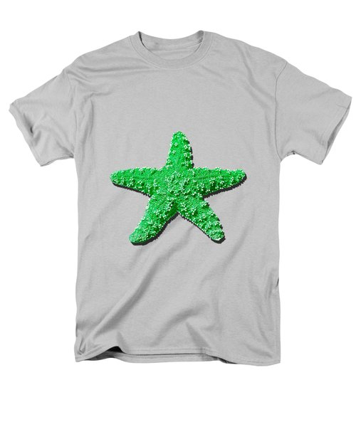 Sea Star Green .png Men's T-Shirt  (Regular Fit) by Al Powell Photography USA