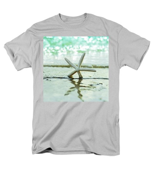 Sea Star Men's T-Shirt  (Regular Fit) by Laura Fasulo