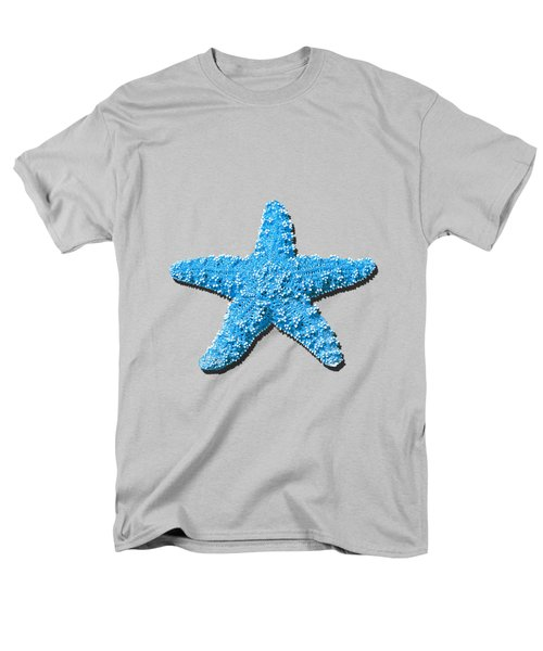 Sea Star Light Blue .png Men's T-Shirt  (Regular Fit) by Al Powell Photography USA