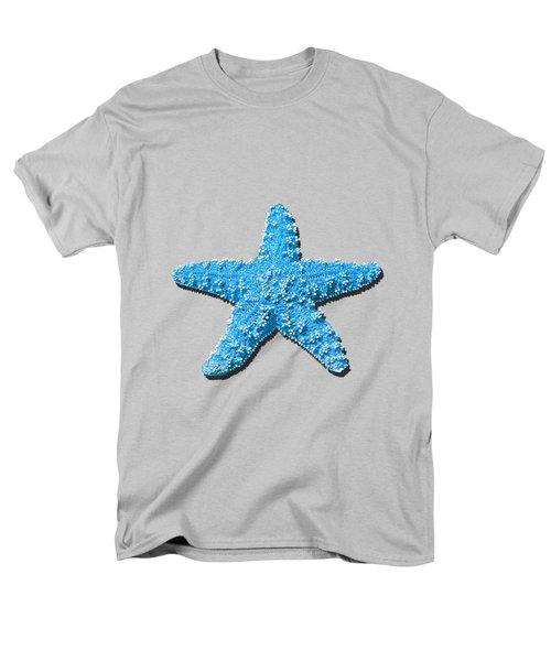 Sea Star Light Blue .png Men's T-Shirt  (Regular Fit)