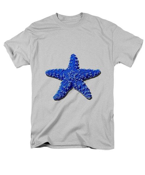 Sea Star Navy Blue .png Men's T-Shirt  (Regular Fit)