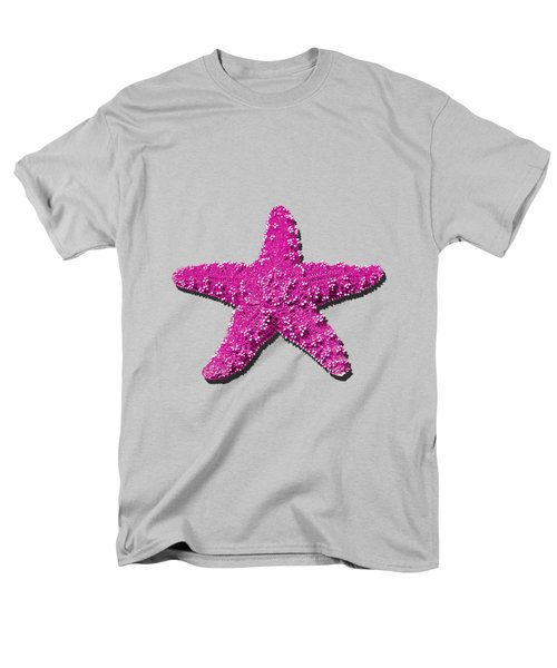 Sea Star Pink .png Men's T-Shirt  (Regular Fit) by Al Powell Photography USA