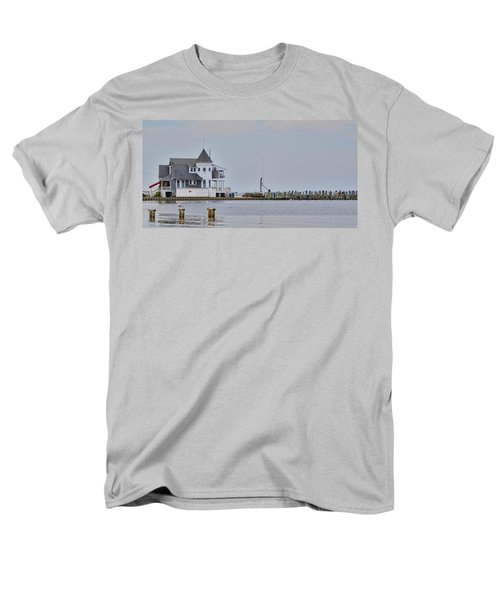 Men's T-Shirt  (Regular Fit) featuring the photograph Seaside Park Yacht Club by Sami Martin