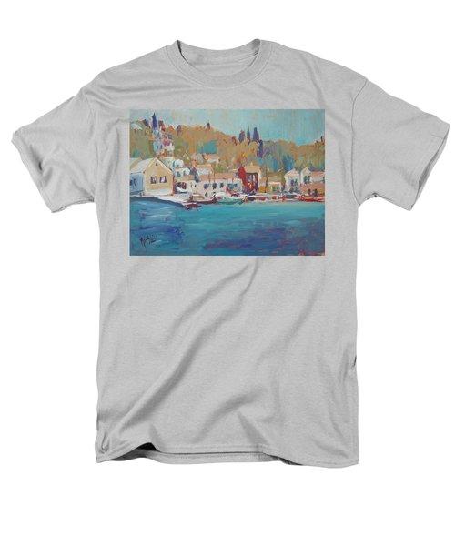 Seaview Lggos Paxos Men's T-Shirt  (Regular Fit)