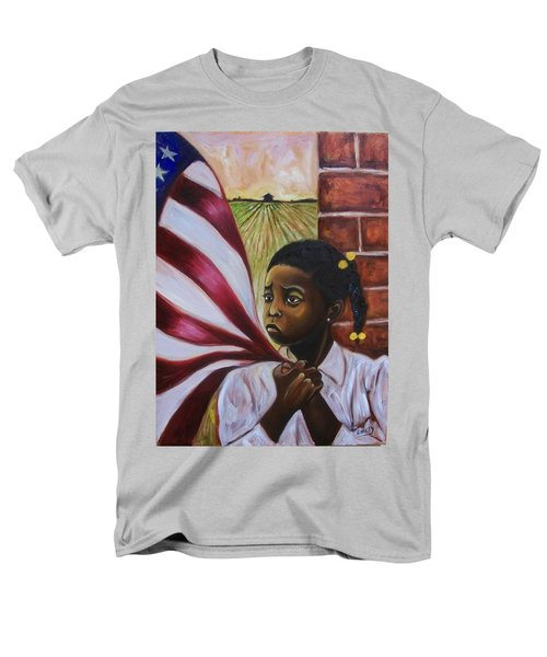 Men's T-Shirt  (Regular Fit) featuring the painting See Yourself by Emery Franklin
