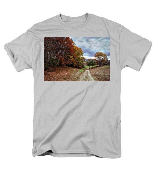 Seldom Traveled 0609 Men's T-Shirt  (Regular Fit) by Michael Peychich