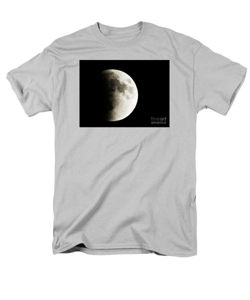 Men's T-Shirt  (Regular Fit) featuring the photograph September 27,2015 Moon Eclipse  by J L Zarek