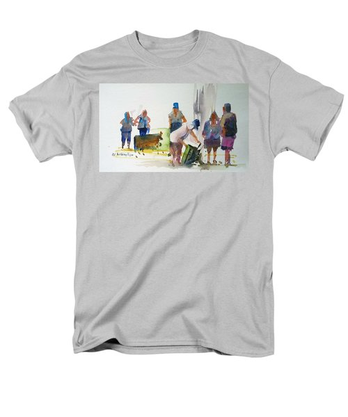 Setting Up Men's T-Shirt  (Regular Fit) by P Anthony Visco