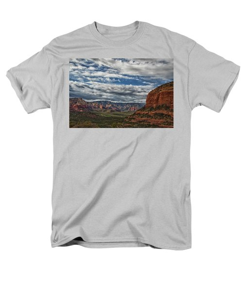 Men's T-Shirt  (Regular Fit) featuring the photograph Seven Canyons by Tom Kelly