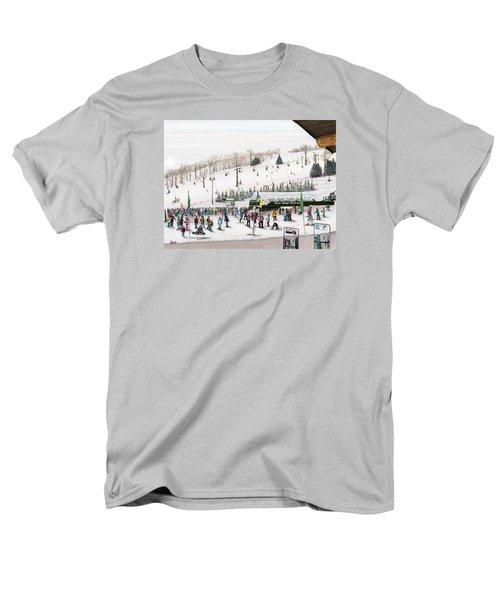 Seven Springs Stowe Slope Men's T-Shirt  (Regular Fit) by Albert Puskaric
