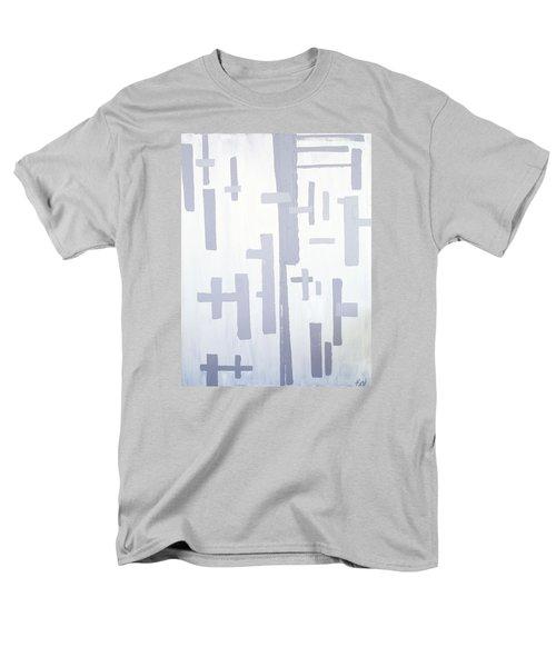 Shades Of Gray Men's T-Shirt  (Regular Fit) by Karen Nicholson