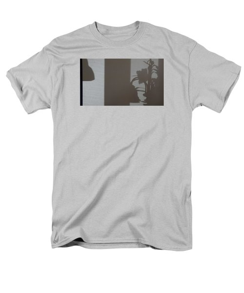 Men's T-Shirt  (Regular Fit) featuring the mixed media Shadow Panel 1 by Don Koester