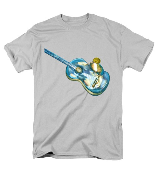 Shall Strum The Strings Unto The Lord O Men's T-Shirt  (Regular Fit) by Thecla Correya
