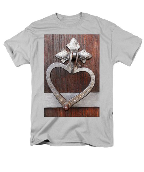 Men's T-Shirt  (Regular Fit) featuring the photograph Shape Of My Heart by Juergen Weiss
