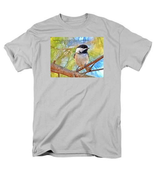 Shelter Among It's Branches Men's T-Shirt  (Regular Fit) by Sara Raber