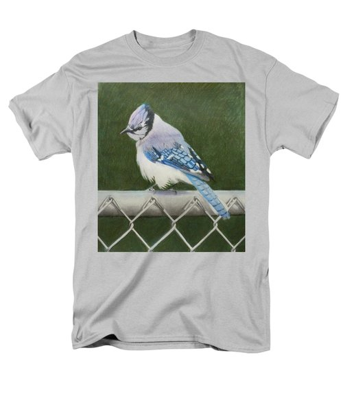 Sherrie's Bluejay Men's T-Shirt  (Regular Fit) by Constance DRESCHER