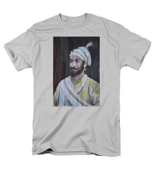 Shivaji Maharaj Men's T-Shirt  (Regular Fit) by Vikram Singh