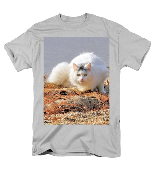 Shore Kitty Men's T-Shirt  (Regular Fit) by Debbie Stahre