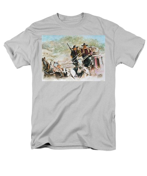 Shot Gun Men's T-Shirt  (Regular Fit) by Traci Goebel