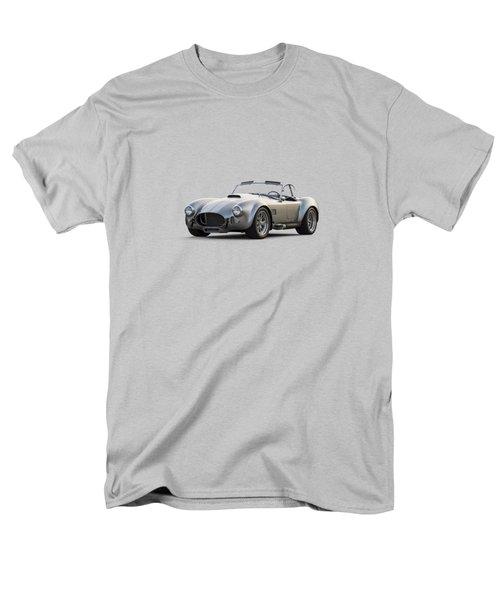 Silver Ac Cobra Men's T-Shirt  (Regular Fit) by Douglas Pittman