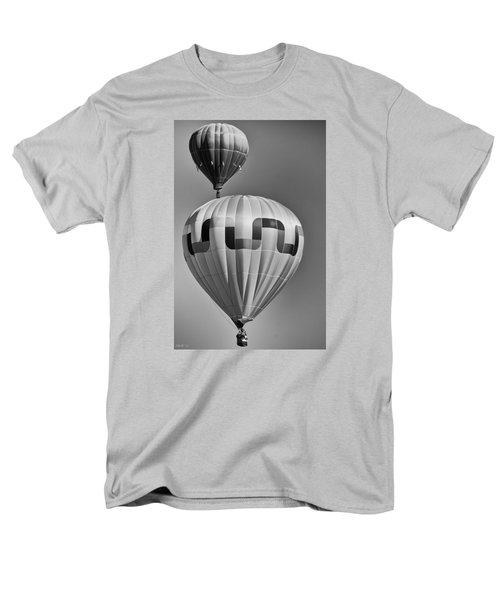 Silver Sky Balloons Men's T-Shirt  (Regular Fit) by Kevin Munro