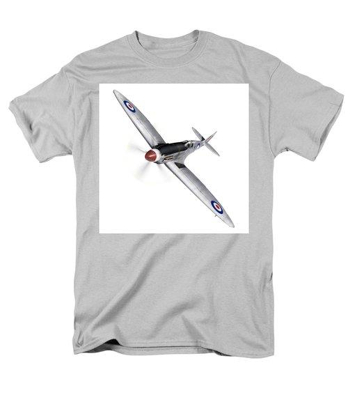 Silver Spitfire Pr Xix Cutout Men's T-Shirt  (Regular Fit) by Gary Eason