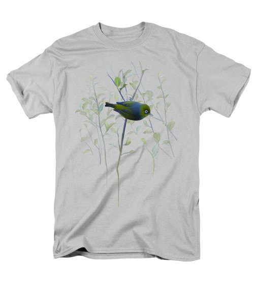 Silvereye Men's T-Shirt  (Regular Fit) by Ivana Westin