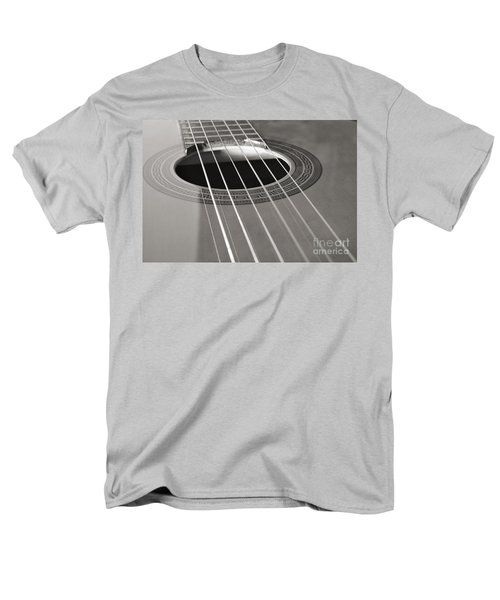 Six Guitar Strings Men's T-Shirt  (Regular Fit) by Angelo DeVal