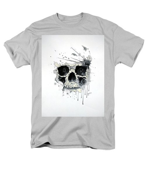 Men's T-Shirt  (Regular Fit) featuring the painting Skull by Edwin Alverio