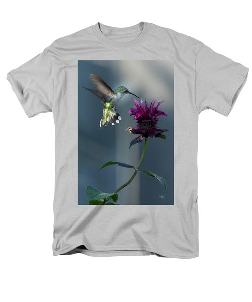 Men's T-Shirt  (Regular Fit) featuring the photograph Smiles In The Garden by Everet Regal