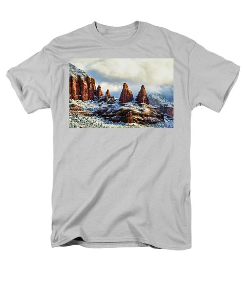 Snow 04-002 Men's T-Shirt  (Regular Fit) by Scott McAllister