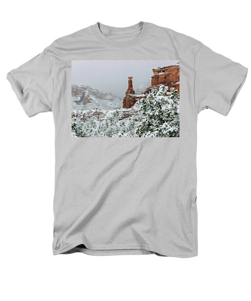 Snow 06-027 Men's T-Shirt  (Regular Fit) by Scott McAllister