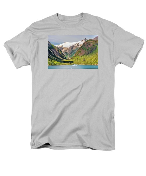 Snow Capped Men's T-Shirt  (Regular Fit) by Lewis Mann