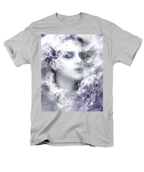 Men's T-Shirt  (Regular Fit) featuring the digital art Snow Fairy  by Gun Legler