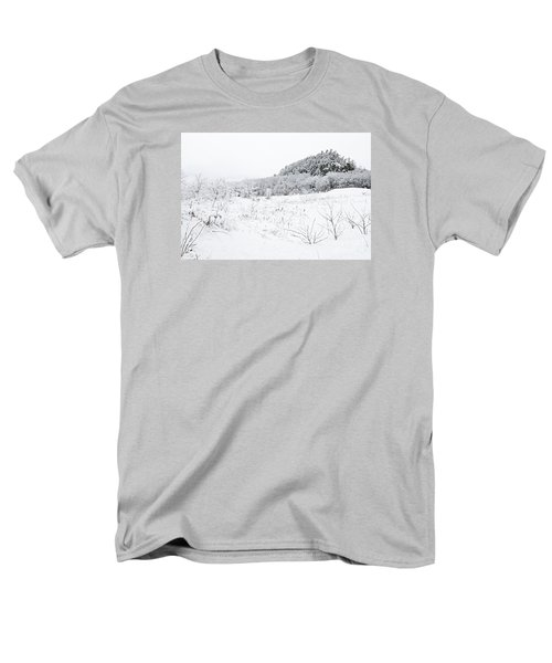 Men's T-Shirt  (Regular Fit) featuring the photograph Snow Scene by Larry Ricker