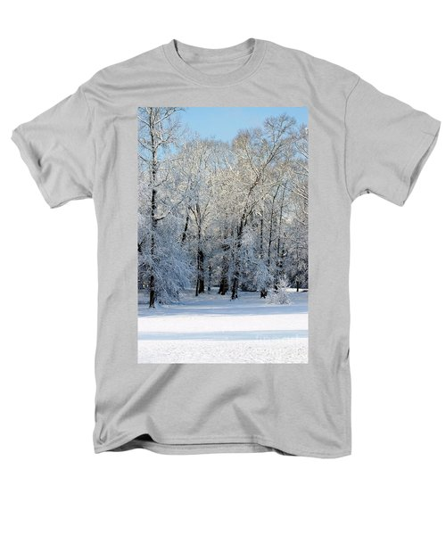 Snow Scene One Men's T-Shirt  (Regular Fit) by Donna Bentley