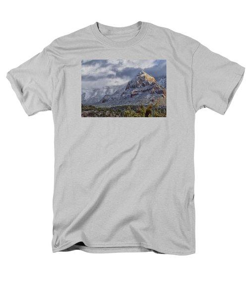 Men's T-Shirt  (Regular Fit) featuring the photograph Snowbreak by Tom Kelly