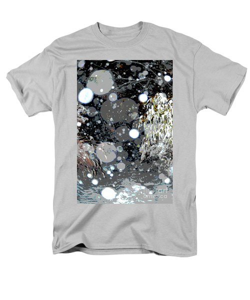 Snowfall Deconstructed Men's T-Shirt  (Regular Fit) by Li Newton