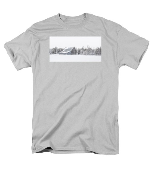 Snowy Barn Men's T-Shirt  (Regular Fit) by Dan Traun