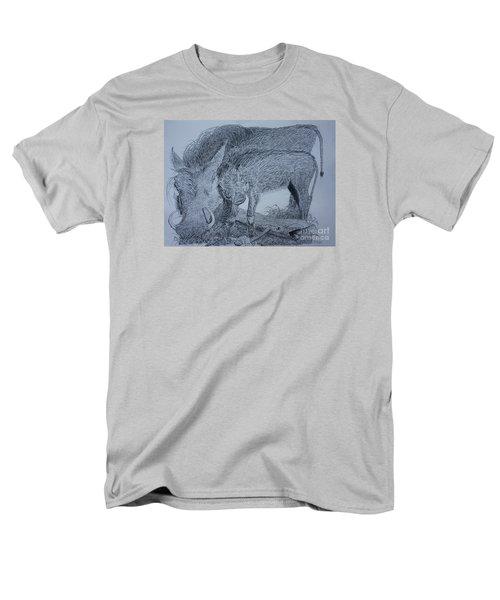 Snuggle Men's T-Shirt  (Regular Fit)