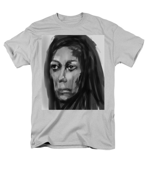 Men's T-Shirt  (Regular Fit) featuring the painting Solemn by Jim Vance