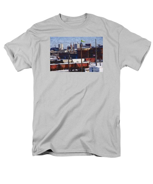 Soo Line Men's T-Shirt  (Regular Fit) by David Blank