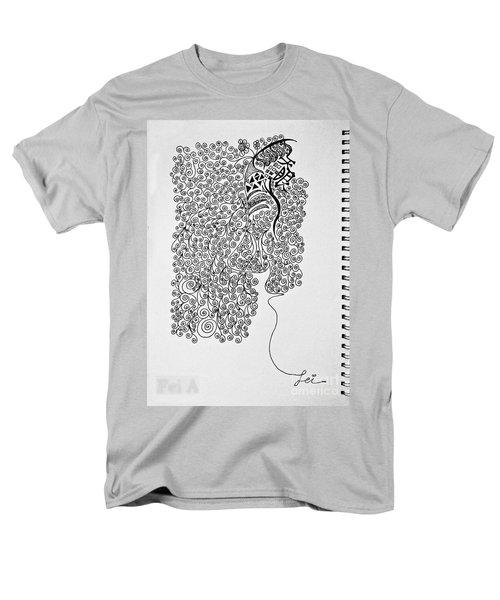 Soundless Whisper Men's T-Shirt  (Regular Fit) by Fei A