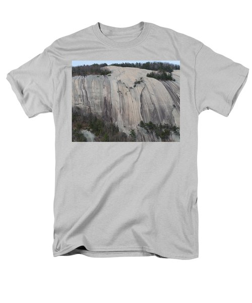 South Face - Stone Mountain Men's T-Shirt  (Regular Fit) by Joel Deutsch