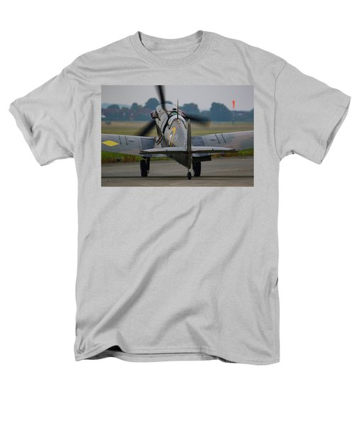 Spitfire Start Up Men's T-Shirt  (Regular Fit) by Ken Brannen