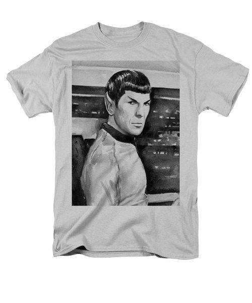 Spock Men's T-Shirt  (Regular Fit) by Olga Shvartsur
