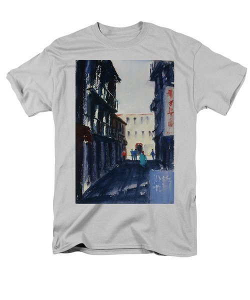 Spofford Street4 Men's T-Shirt  (Regular Fit) by Tom Simmons